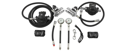 Комплект Apeks Sidemount Regulator Kit