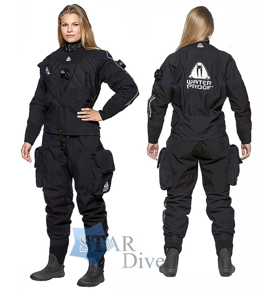 Гидрокостюм сухой Waterproof D9X Extended Breathable